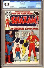 SHAZAM #1  CGC 9.8 WP NM/MT  DC Comics 1973  1st Captain Marvel since Golden Age