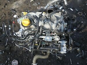 RENAULT CLIO 2018 YEAR 0.9 TCE H4B408 CODE PETROL ENGINE COMPLETE TURBO