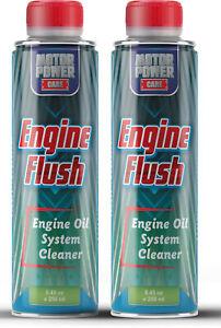 2 x pack Pro Motor Oil Engine Flush oil system cleaner MotorPower Care
