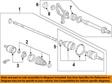 Acura HONDA OEM 10-14 TL-Front Inner Cv Joint 44310TK5A61
