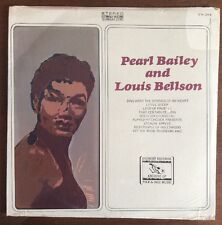 SEALED! Pearl Bailey and Louis Bellson - Vinyl LP Everest Records Folk / Jazz