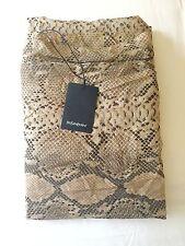 Yves Saint Laurent Cotton Silk Oversized Python Print Scarf Shawl Stole BNWT