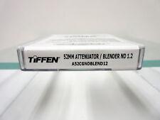 New Tiffen 52mm ATTENUATOR/BLENDER ND1.2 Neutral Density Filter A52CGNDBLEND12