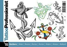 Inspire Reino Unido Tatuaje professionist 16 Diseños de Tatuajes TB316 libro Tatuaje Arte Flash