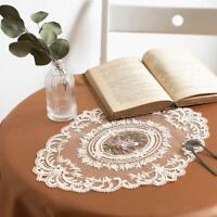 DIY Flower Sewing Applique Trim Embroidery Floral Lace Trims Sofa Cushion Decor
