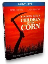CHILDREN OF THE CORN New Sealed Blu-ray + DVD Steelbook