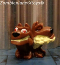 Flush Force Series 1 Collectible Mini Toy Figure Dis-Pair Mutant Two Headed Dog