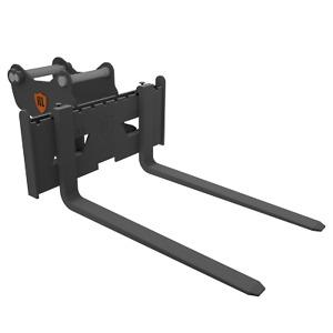 Pallet Forks Tines for Excavator / Digger 6-8 Ton Tonne Floating Type