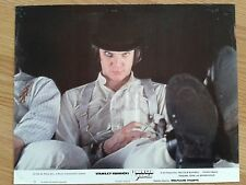 STANLEY KUBRICK: A CLOCKWORK ORANGE vintage German lobby card #5 Sci-Fi 1971