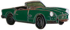 Triumph Spitfire MkI/II car cut out lapel pin - Green