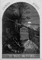 ARLINGTON HEIGHTS CEMETERY TOMBSTONE GRAVE CIVIL WAR SOLDIER GHOST SPIRIT NAST