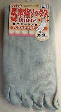 Chaussettes 5 Doigts  / Finger Socks Coton 100 %  ( 23 ~ 25 cm. / Eur 37 ~ 39 )