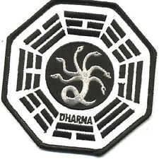 """LOST TV Series Dharma Medusa  Logo 4"""" Embroidered Patch (LOPA-102)"""