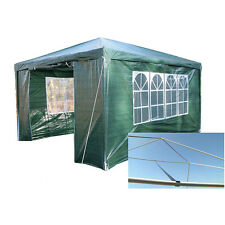 Panana 3m x 4m Green 120g Waterproof Outdoor PE Gazebo Marquee Canopy Party Tent