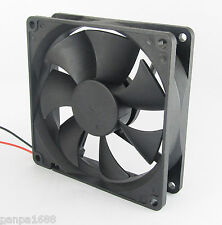10pcs Brushless DC Cooling Fan 120x120x25mm 120mm 12025 7 blades 24V 2pin UK