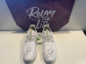 Autographed Rickie Fowler Shoes - All Proceeds Go To ACS - Relay For Life!