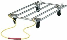 Dog Crate Dolly Perfect for Dog Shows | Easily Handles Dog Carriers, Metal Dog C