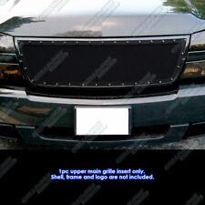 06 Chevy Silverado 1500/05-06 2500/3500 Rivet Black Mesh Grille Grill Insert