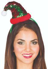 Rubies 4170462 - Elf Wendepailletten Haarreif, ★ Weihnachten ★ X-Mas ★