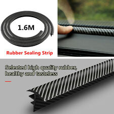1.6M Carbon Fiber Look Car Dashboard Gap Filling Sealing Strip Soundproof + Tool