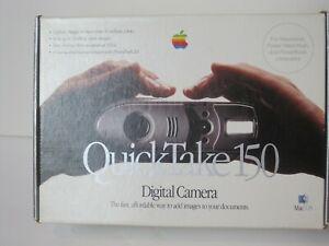 Vintage Apple QuickTake 150 Camera In Original Box