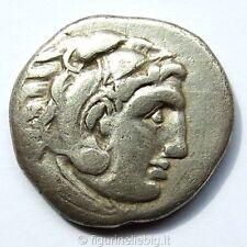 Antica Grecia Alessandro Il Grande Tetradracma 323 A.C. Argento 4,02 gr. 18 mm.