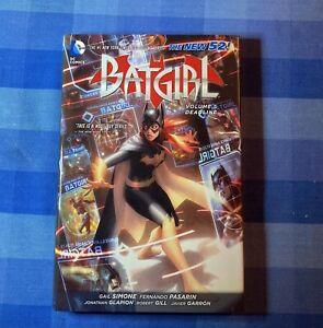 BATGIRL - Volume 5 - Deadline - The New 52! Gail Simone - HC - DC - Excellent