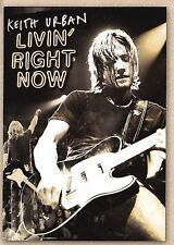 Keith Urban - Livin Right Now (DVD, 2005) NEW