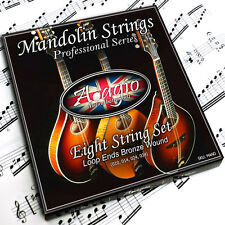 Adagio Mandolin Strings Set Bronze Wound (Standard, .010 - .034 Loop Ends)