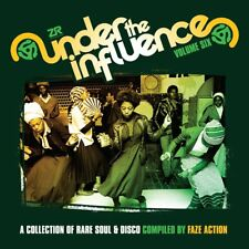 VARIOUS - UNDER THE INFLUENCE 6 RARE SOUL & DISCO COMPILED BY.. 2 VINYL LP NEW!