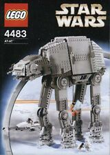 LEGO Star Wars AT-AT with Snowspeeder and Minifigures Complete 4483 4500