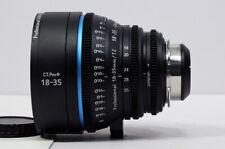 Cinematics Cine lens sigma 18-35mm T2 f/1.8  PL for SONY FS7 F5 RED EPIC URSA
