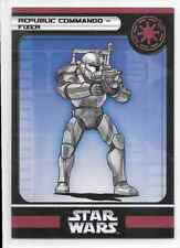 2006 Star Wars Miniatures Republic Commando Fixer Stat Card Only Swm Mini