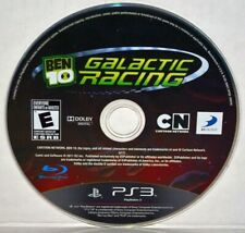 Ben 10: Galactic Racing (Sony PlayStation 3, 2011) PS3 Video Game Disc Only