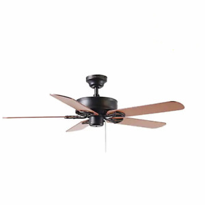 "Harbor Breeze Ceiling Fan w/Reversible Blades 44""  5-Blade Antique bronze finish"