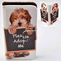 For Samsung Galaxy Series - Havanese Dog Print Wallet Mobile Phone Case Cover