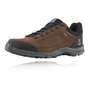 Haglofs Mens Krusa GORE-TEX Walking Shoes Brown Sports Outdoors Waterproof