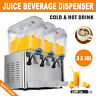 Commercial Juice Beverage Dispenser Fruit Ice Tea Cold / Hot Drink