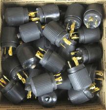 Hubbell Male 30a 250v Twist Lock Plug nema L6-30 -- SALE!! ------ LOT OF24