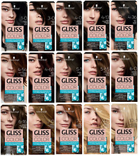 GLISS COLOR CARE AND MOISTURE /SCHWARZKOPF/ HAIR DYE VARIATIONS