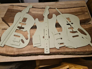 Stratocaster Guitar Routing Template Set 9mm MR MDF