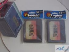 AWESOME DECK CASSETTE TAPE LEGION MAT DECK PROTECTOR CARD SLEEVES AND DECK BOX
