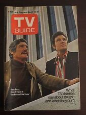 TV Guide March 1971 Gene Barry Robert Stack Name of the Game Newsstand No Label