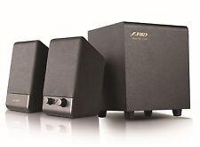 F&D 2.1 Multimedia Speakers F313U lowest ever frees hipping vat bill warranty