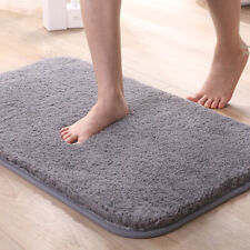Bathroom Rugs Non Slip Bath Mats for BathroomWater Absorbent Microfiber Soft