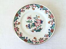 Assiette en porcelaine de LIMOGES RAYNAUD et ARGENT MASSIF PUIFORCAT