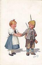Bambini, giovani come cacciatore, CACCIA, Sign. festivo, 1910