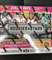 2020 Panini Rookies & Stars Mega Box. 1 Auto & 2 Memorabilia