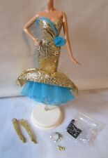 HOLIDAY HOSTESS HAPPY NEW YEAR BARBIE OUTFIT AND ACCESSORIES ONLY