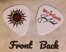 ALICE IN CHAINS Band Signature Jerry Cantrell Logo guitar pick  - (W7)